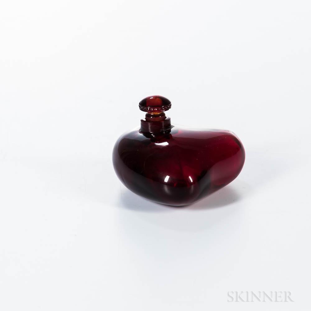 """Rosine Paul Poiret """"Coeur en Folie"""" Ruby Red Perfume"""