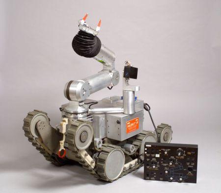 NASA Hazbot III Prototype Mobile Robot