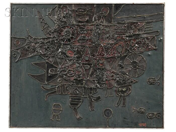 Jose Gamarra (Uruguayan, b. 1934)      Untitled (M62914)