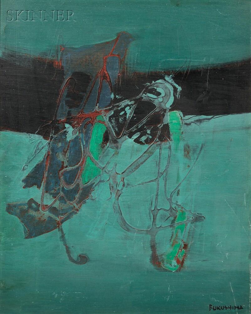 Tikashi Fukushima (Japanese, 1920-2001)      Abstract