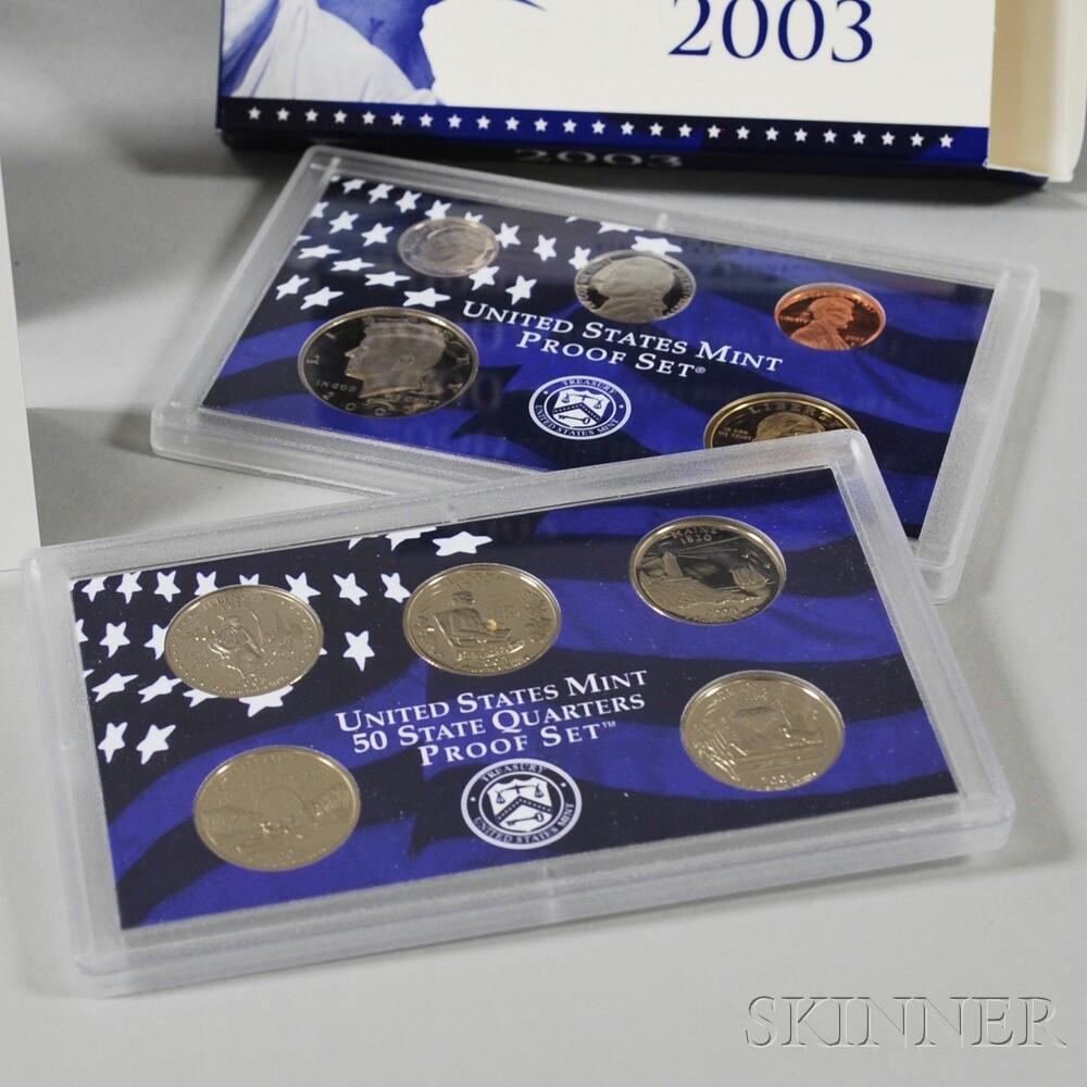 Group of U.S. Mint Sets