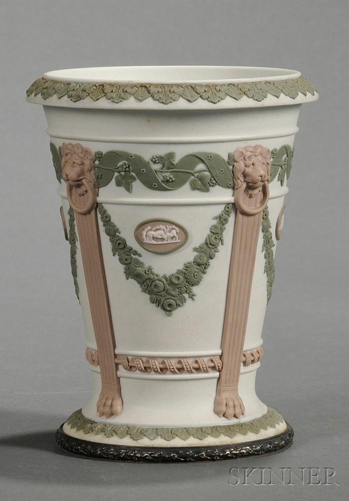 Wedgwood Three-Color Jasper Vase