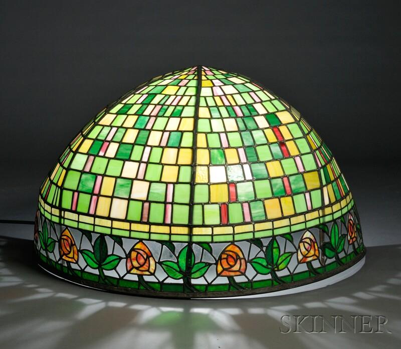Mosaic Glass Awning