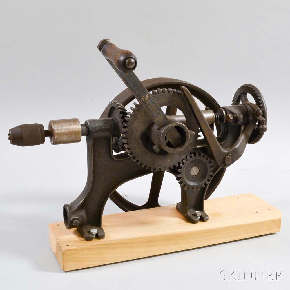 No. 65R Hand-crank Drill