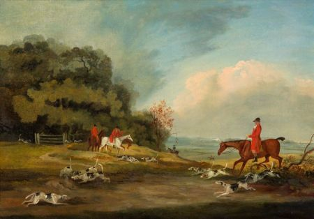 Attributed to Samuel Alken, Sr. (British, 1756-1815)    Hunt Scene