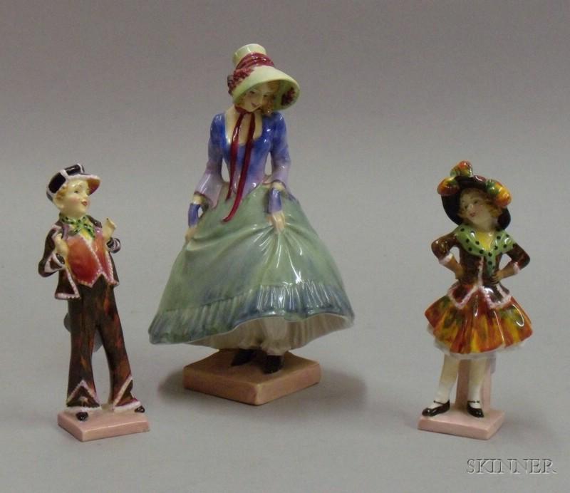 Three Royal Doulton Figures