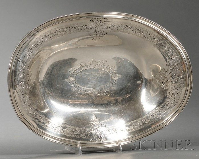 Baltimore Silversmiths Co. Sterling Trophy Bowl