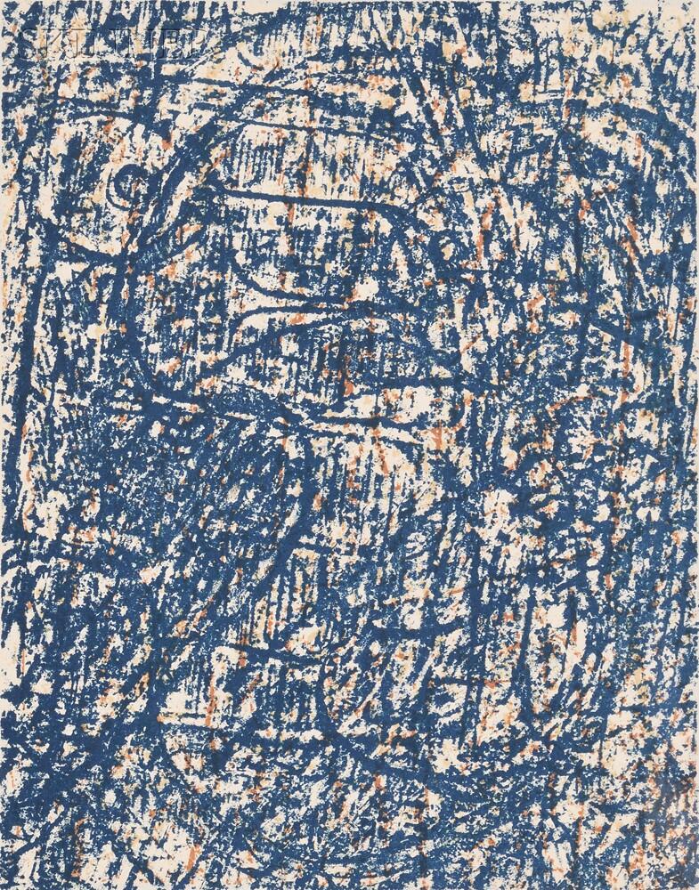 Max Ernst (German, 1891-1976)      La forèt bleue