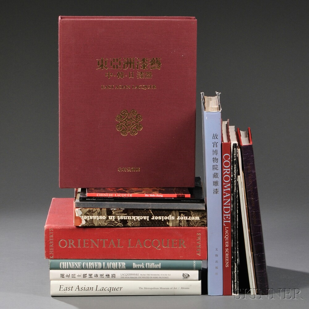 Sixteen Books on Chinese and East Asian Lacquer