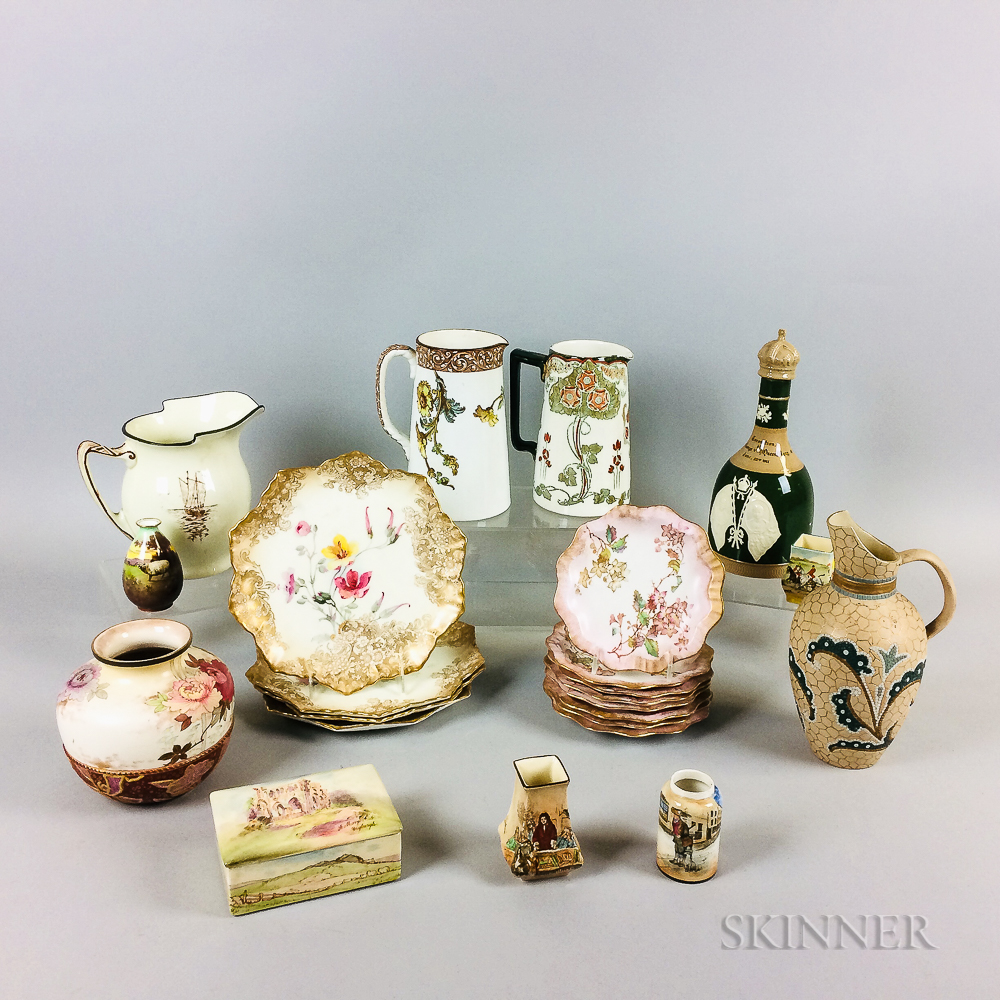 Twenty-three Mostly Doulton Ceramic Items