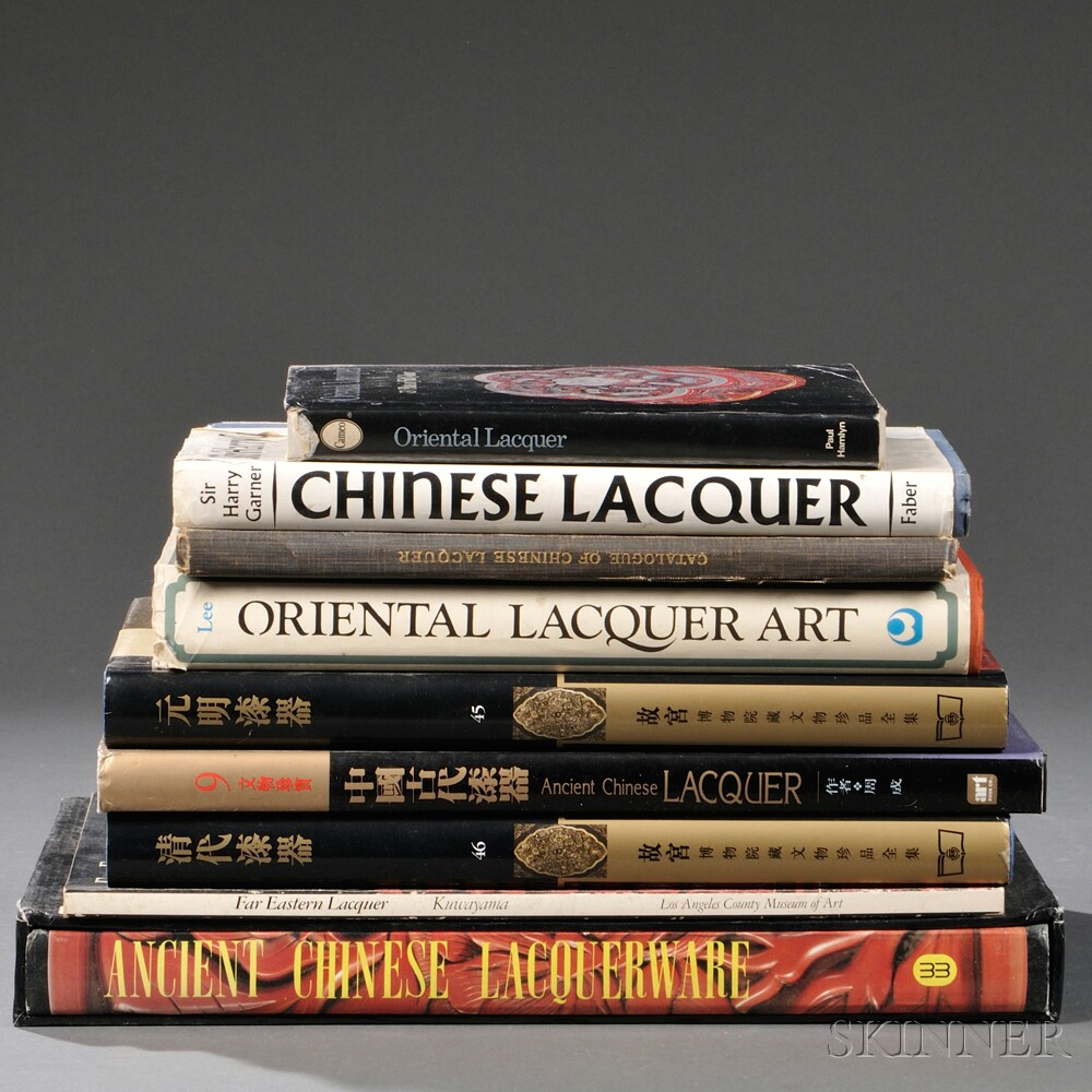 Nine Books on Chinese Lacquer