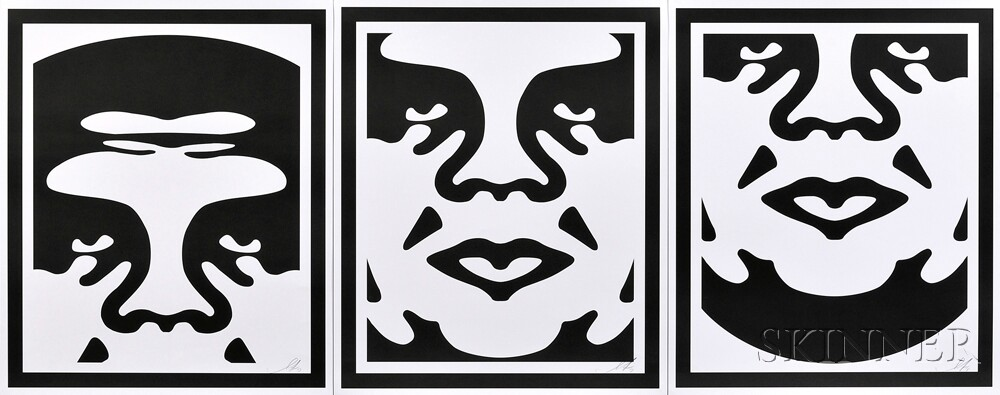 Shepard Fairey (American, b. 1970) Andre the Giant ...