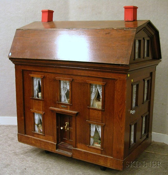 Large Mahogany Dollhouse Sale Number 2383 Lot Number