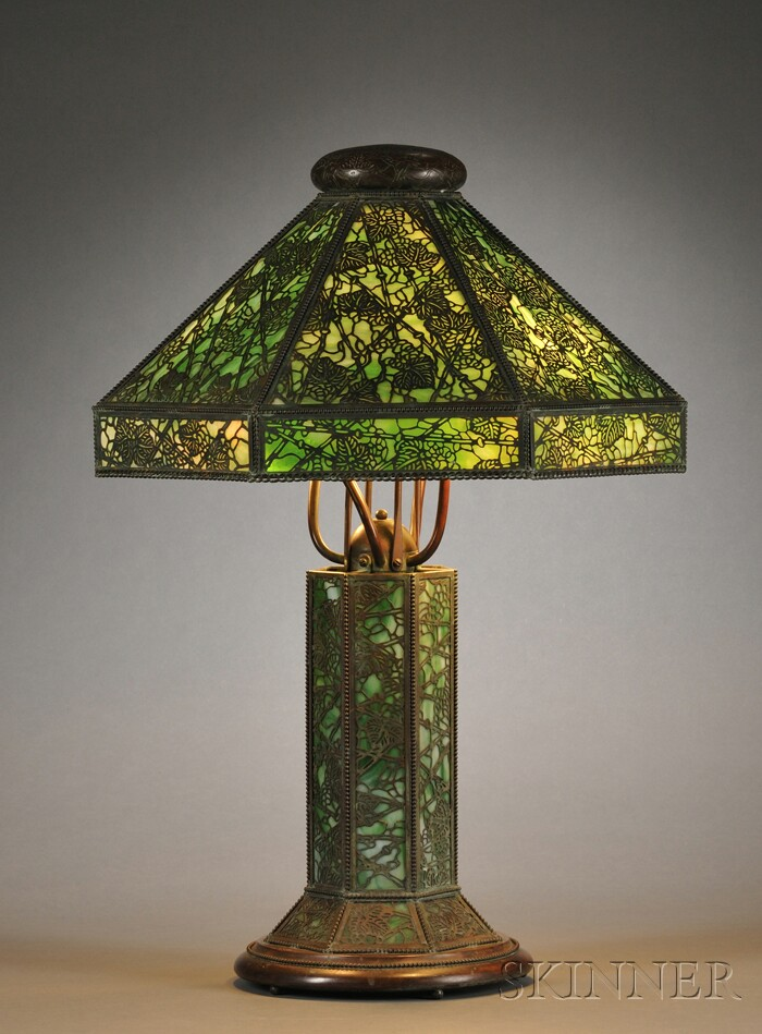 Table Lamp Attributed to Riviere Studios