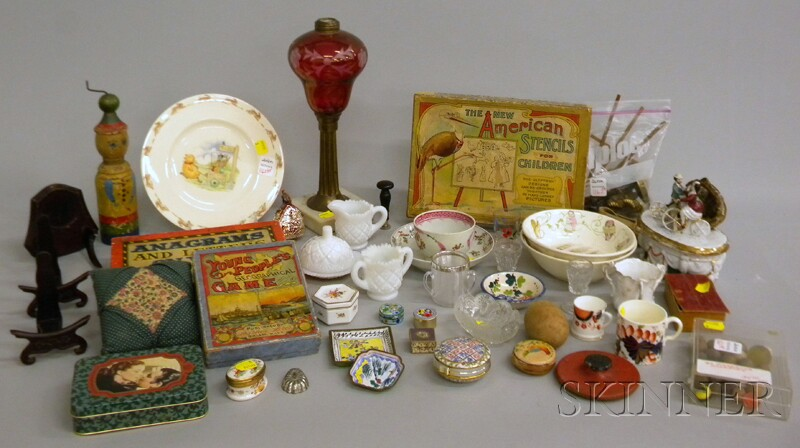 Group of Collectible and Decorative Items