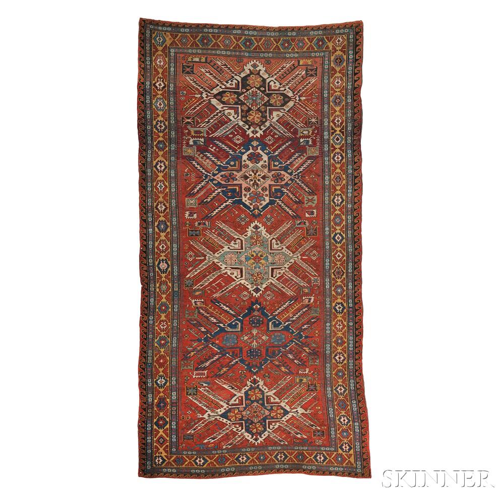 """Eagle"" Karabagh Soumak Carpet"