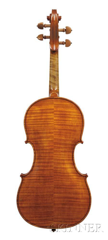 French Violin, Paul Bisch, Mirecourt, 1957