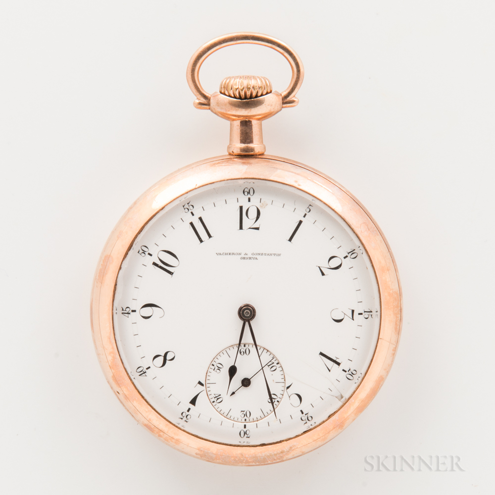 Vacheron & Constantin Open-face Watch