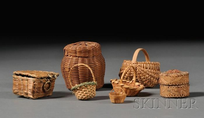 Thirteen Northeast Miniature Items
