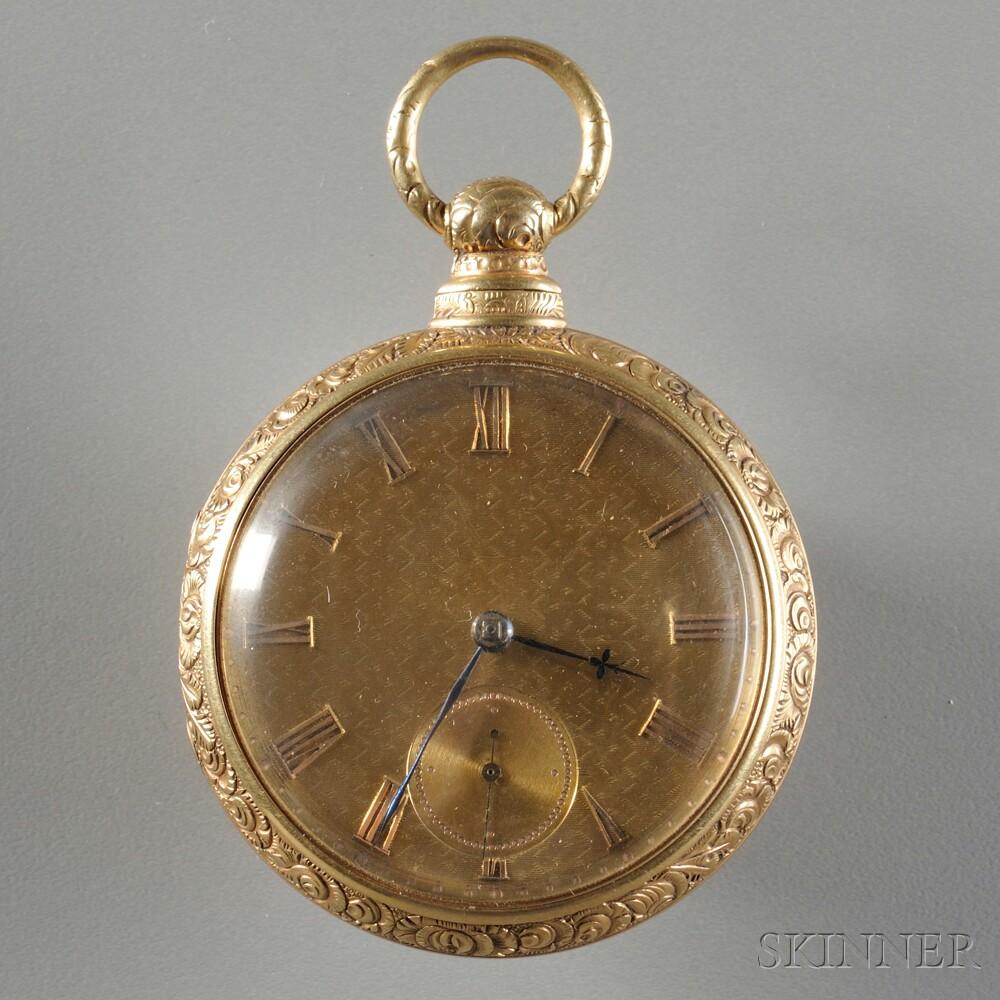 Tobias 18kt Gold Pair Case Watch