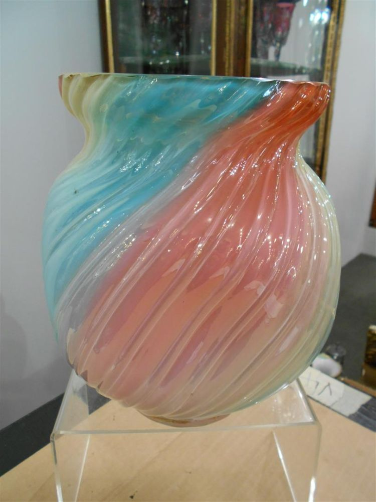 Loetz Rainbow Glass Vase Sale Number 2835b Lot Number 564