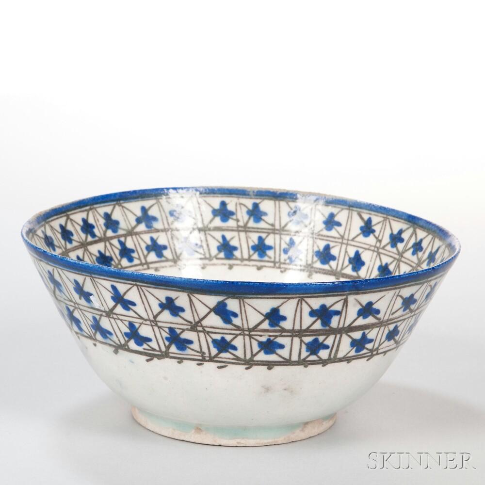 Beige-glazed Bowl