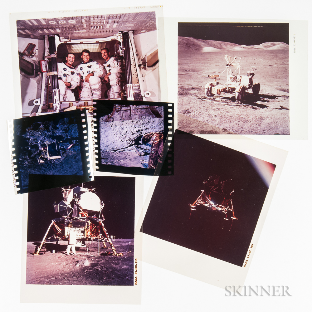 NASA Space Photography: Collection of Approximately 300 Color Transparencies.