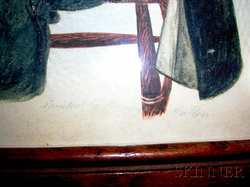 Henry Walton (American, 1804-1865)      Portrait of
