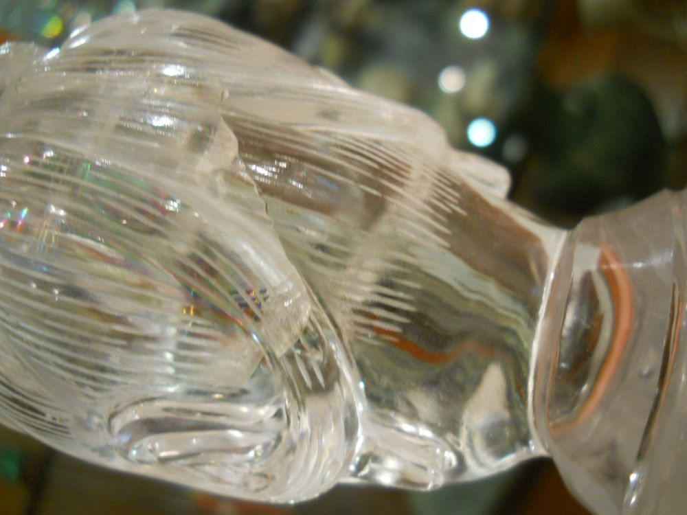 Rock Crystal Carving of Guanyin