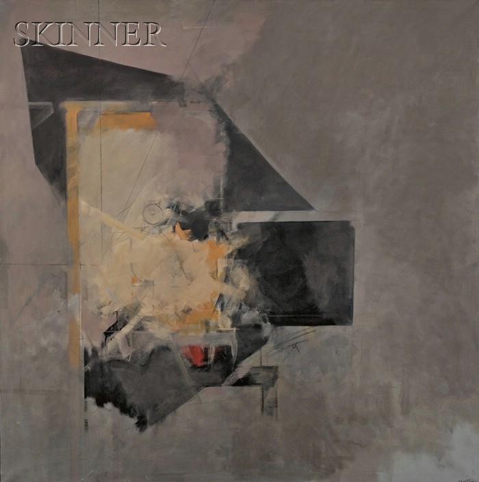 Albert Bitran  (French, b. 1929)      Interieur-Exterieur