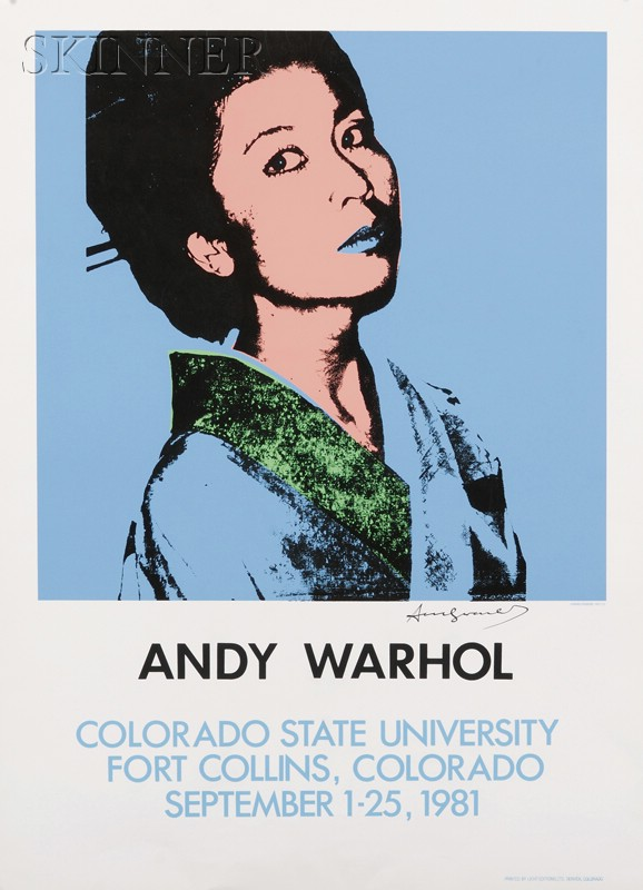 After Andy Warhol (American, 1928-1987)      ANDY WARHOL Colorado State University...