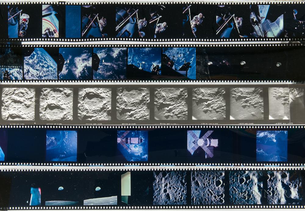 Apollo 8, 9, and 10, Eighteen Rolls of 70 mm Film.