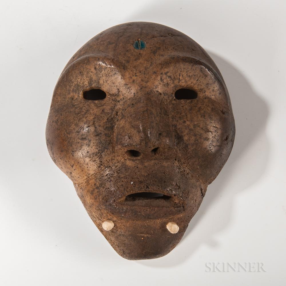 Eskimo Whale Bone Mask