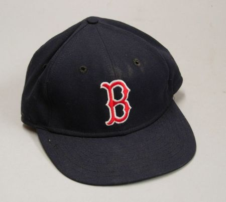 Roger Clemens Boston Red Sox No. 21 Game Used Hat.