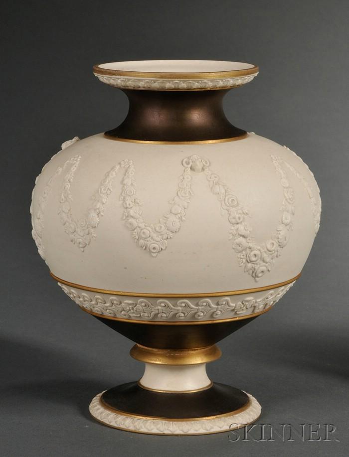 Wedgwood Bronzed Stoneware Vase