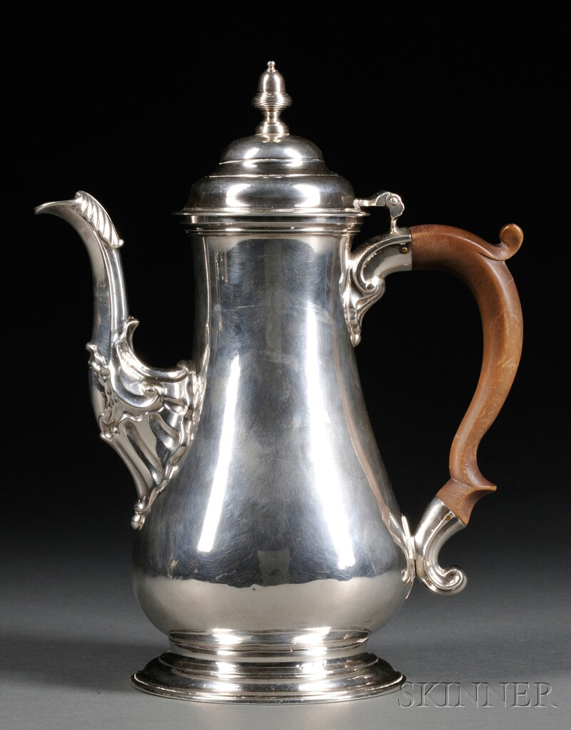 English Sterling Silver Coffeepot