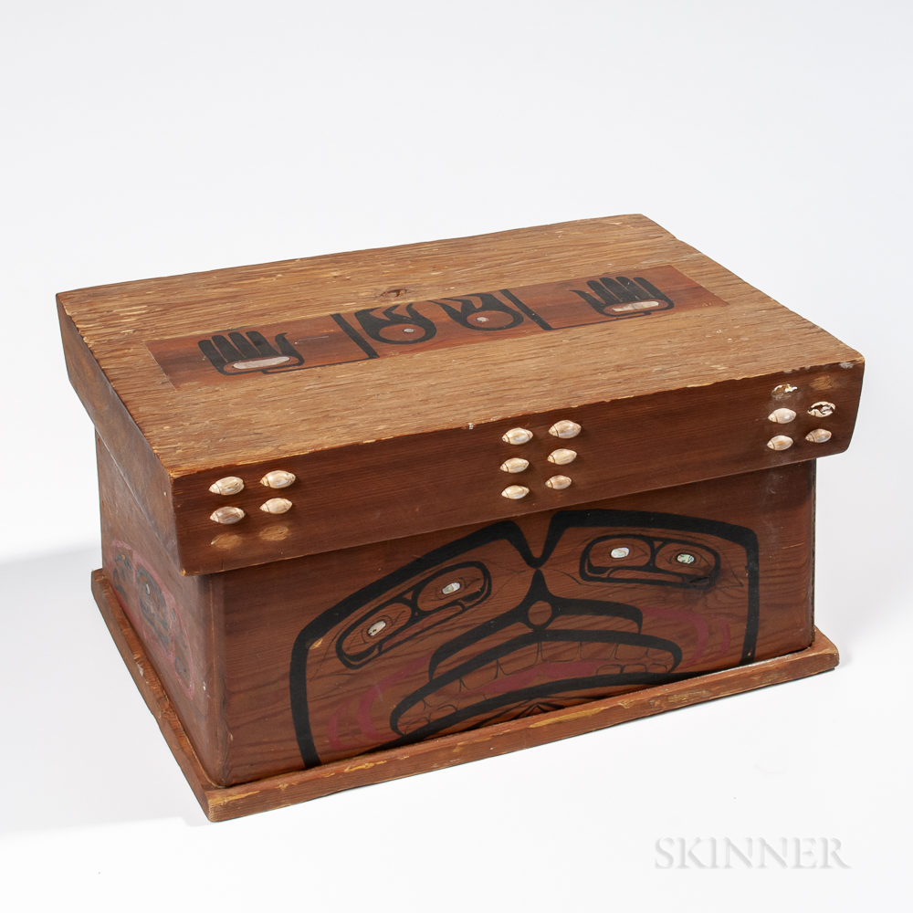 Northwest Coast Cedar Box