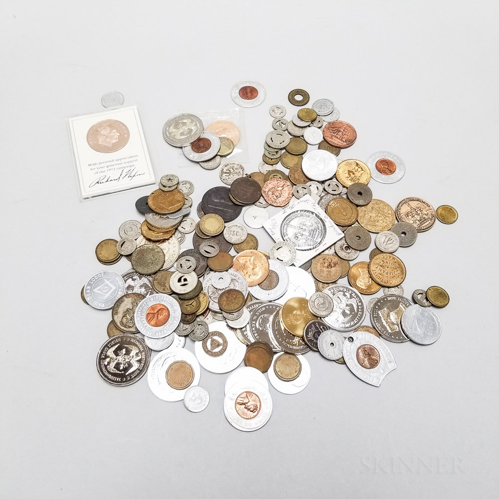 Large Group of Tokens and Reproduction Coins
