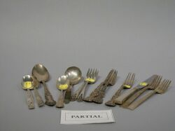 Approximately Forty-nine Pieces of Assorted Sterling Silver Flatware.