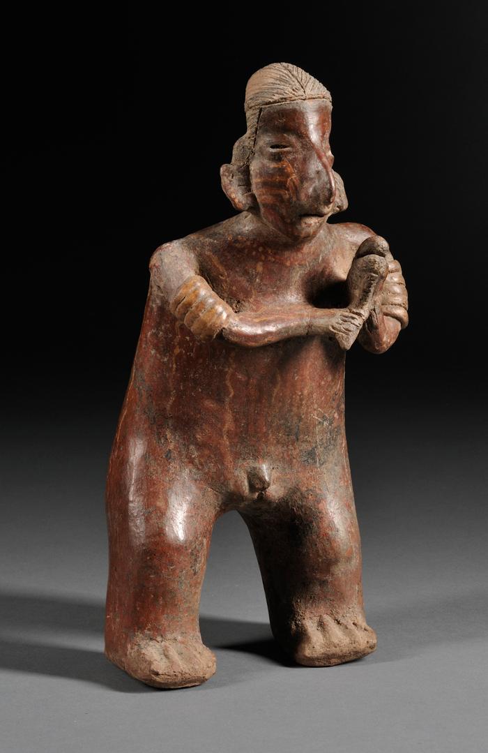Pre-Columbian Pottery Musician