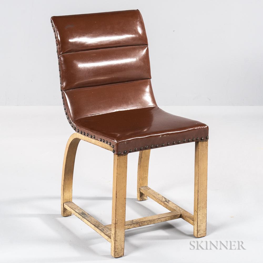 Gilbert Rhode for Heywood Wakefield Maple Side Chair