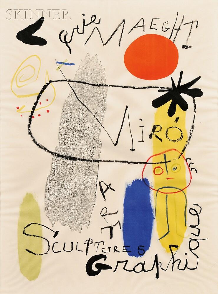 Joan Miró (Spanish, 1893-1983)      Galerie Maeght Miró Sculptures Art Graphique
