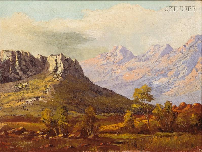 Tinus de Jongh (Dutch, 1885-1942)      Mountain View