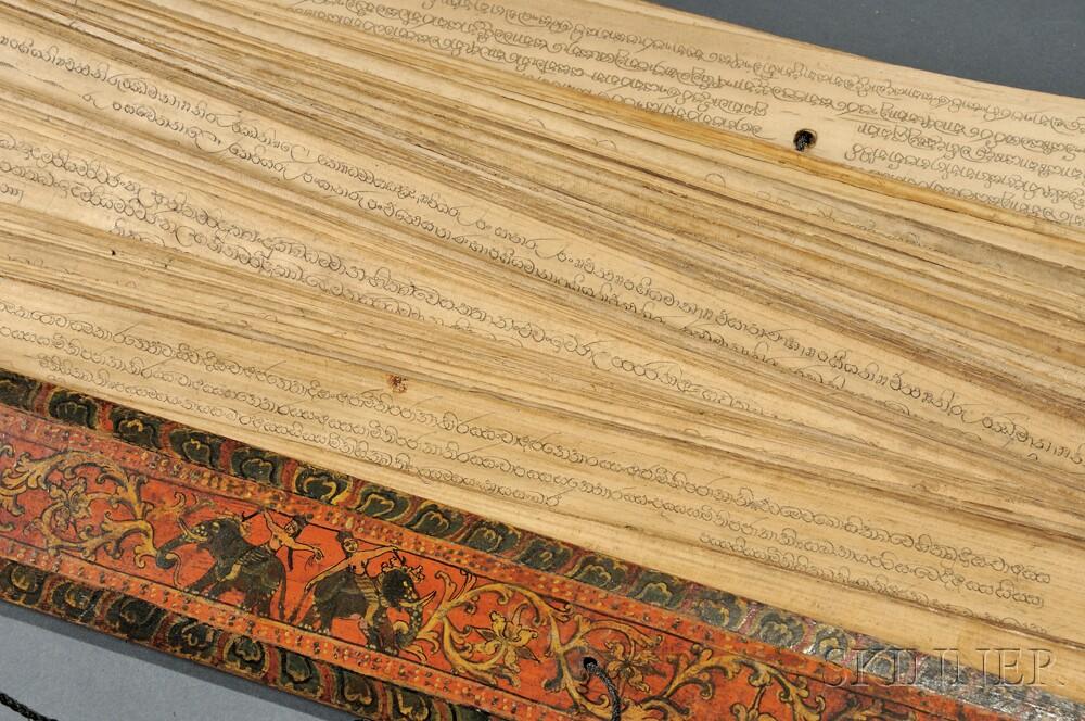 Palm-leaf Manuscript.