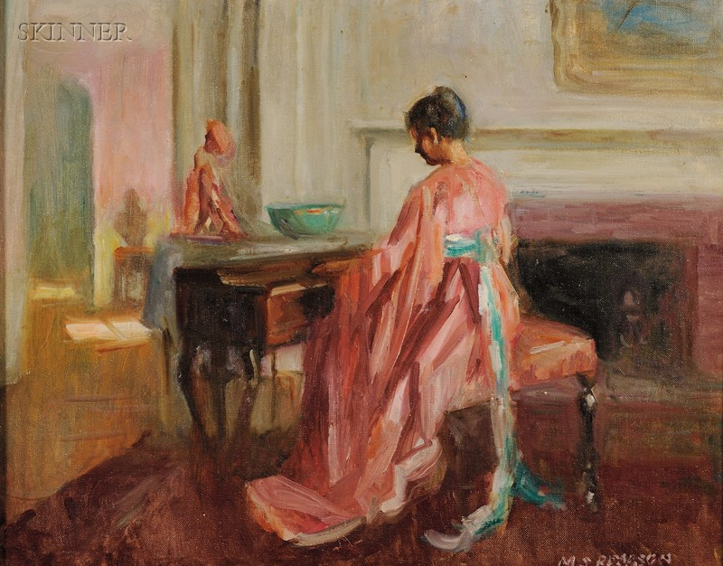 Marguerite Stuber Pearson (American, 1898-1978)      At the Piano