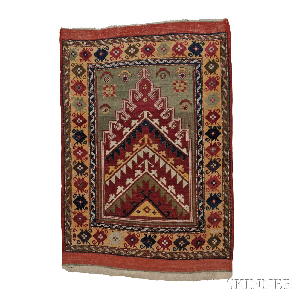Kirsehir Prayer Rug