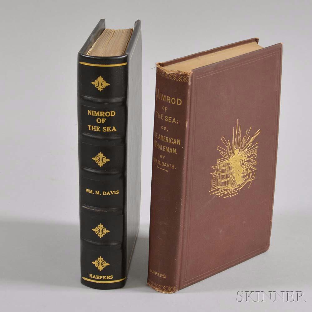 Two Copies of William M. Davis's Nimrod of the Sea