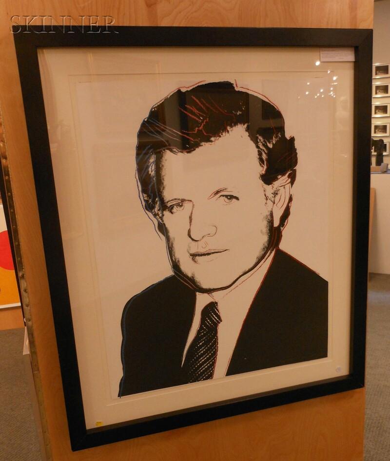 Andy Warhol (American, 1928-1987)      Edward Kennedy