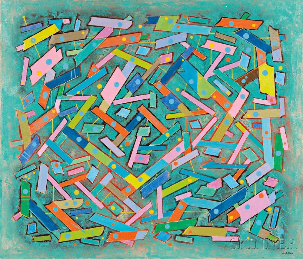 George Marinko (American, 1908-1989)      Rouge et Noir