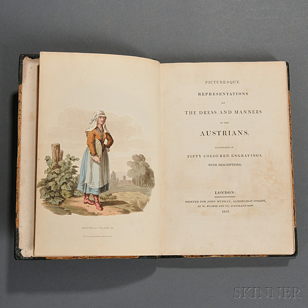 Alexander, William (1767-1816) Picturesque Representations of the Dress and Manner of the Austrians.